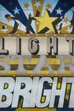 Luce di stella, stella luminosa Stampe di K.c. Haxton