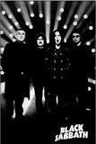 Black Sabbath B&W Music Poster Posters