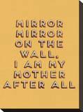 Mirror Mirror Impressão em tela esticada