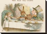 The Mad Tea Party Stretched Canvas Print