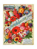 John A. Salzer Seed Co. Spring 1898: Flowers of Paradise Poster