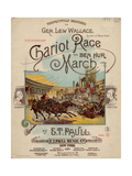 Chariot Race or Ben Hur March, Sam DeVincent Collection, National Museum of American History Posters