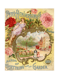 Peter Henderson and Co. Manual of Everything for the Garden Juliste