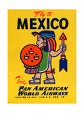 National Air and Space Museum: Pan American - Fly to Mexico Poster