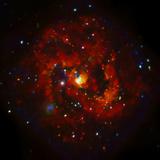 SAO: M83 Spiral Galaxy Fotografie-Druck