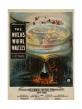 The Witch's Whirl Waltzes, Sam DeVincent Collection, National Museum of American History Posters