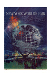 World's Fair: New York World's Fair 1964-1965 Lámina giclée prémium