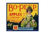 Fruit Crate Labels: Bo-Peep Brand Apples, Extra Fancy; Wenatchee-Okanogan Cooperative Federation Julisteet