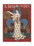 World's Fair: A Deed of the Pen. Louisiana Purchase Exposition Art