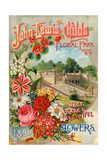 Seed Catalogues: John Lewis Childs: New, Rare and Beautiful Flowers. Floral Park, NY, 1890 Poster