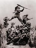 British Black Watch Regiment in Training, 1940 Foto