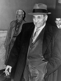 Tony Accardo after His Conviction for Tax Evasion, Nov. 11, 1960 Foto