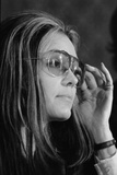 Gloria Steinem, Feminist and a Leader of the 1970's Woman's Movement, 1972 Foto