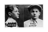 Mug Shots of Baby Face Nelson in the 1930s Foto