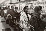 African Americans Sit in at a Lunch Counter in Nashville, Tennessee in 1960 Foto