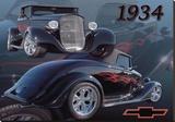 1934 Chevy Toile tendue sur châssis