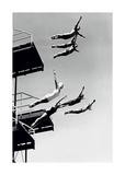 Le grand plongeoir Posters par  The Chelsea Collection