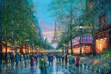 La Tour Eiffel Kunstdrucke von Guy Dessapt