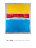 Untitled (Yellow, Red and Blue) Plakater av Mark Rothko