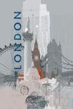 Travel Mono II Posters by Ken Hurd