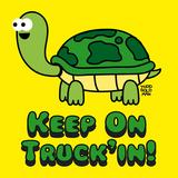 Keep on Truck'in! Affischer av Todd Goldman
