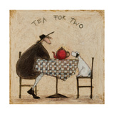 Tea for Two Giclee Print by Sam Toft