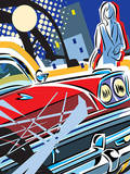 City Car Posters por Ray Lengele