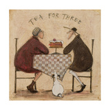Tea for Three Reproduction procédé giclée par Sam Toft