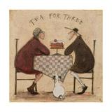 Tea for Three Giclée-tryk af Sam Toft