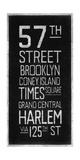 New York Destination Reproduction procédé giclée par Barry Goodman
