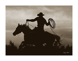 Midnight Rider Giclee Print by Barry Hart