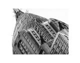 Chrysler Building Detail Reproduction procédé giclée par Christopher Bliss