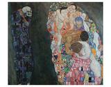Death and Life, 1916 Impressão giclée por Gustav Klimt