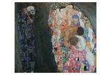 Death and Life, 1916 Gicléedruk van Gustav Klimt