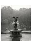 Bethesda Fountain Giclée-tryk af Christopher Bliss