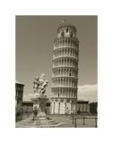 Pisa Tower Giclée-tryk af Christopher Bliss