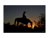 Chasin the Sun Giclee Print by Barry Hart