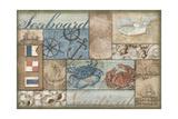 Bateau Bay Collage II Prints by Paul Brent
