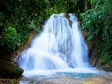 Waterfall I Fotografisk trykk av Howard Ruby