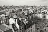 Paris Rooftops VII Impressão fotográfica por Rita Crane