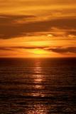 Beach Sunset Fotografisk trykk av Howard Ruby