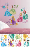 Disney Princess - Royal Debut Peel and Stick Wall Decals Autocollant mural