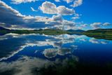 Reflections of Clouds Fotografisk tryk af Howard Ruby