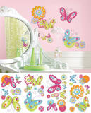 Brushwork Butterfly Peel and Stick Wall Decals Wall Decal