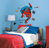 Marvel Classic Spiderman Peel and Stick Giant Wall Decals Veggoverføringsbilde