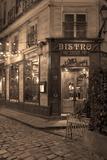 Paris Bistro I Photographic Print by Rita Crane