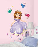 Sofia the First Peel and Stick Giant Wall Decals Wallstickers