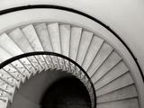 Capital Stairwell Premium fototryk af Jim Christensen