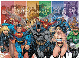 Justice League 1000 Piece Puzzle Jigsaw Puzzle