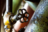 Pipe and Valve Photographic Print by Dana Styber